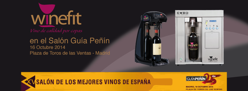 Winefit y Exportcave en el Salón de los mejores vinos de españa guía peñín