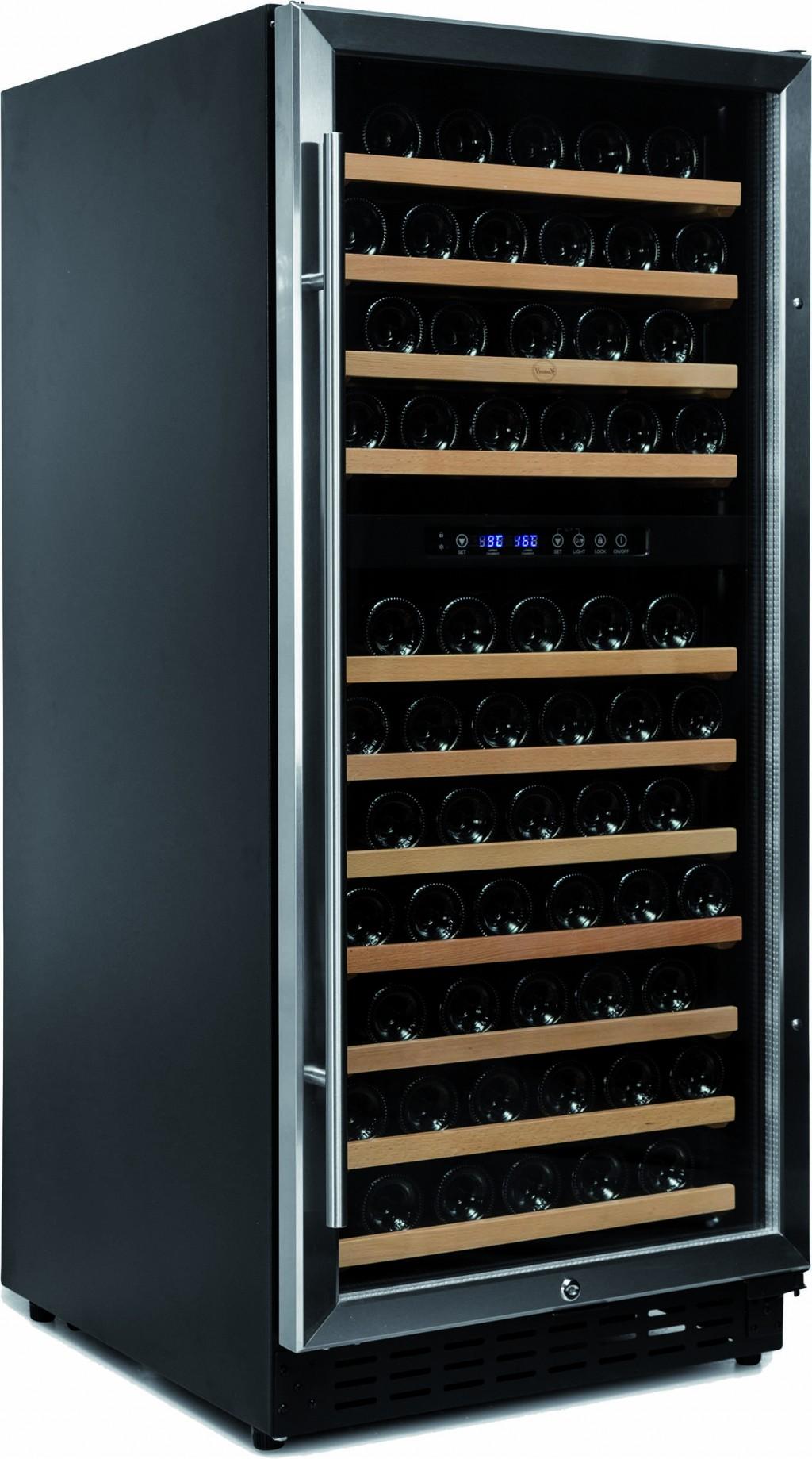 Armario para vinos 2 temperaturas exportcave - Vinoteca 2 temperaturas ...