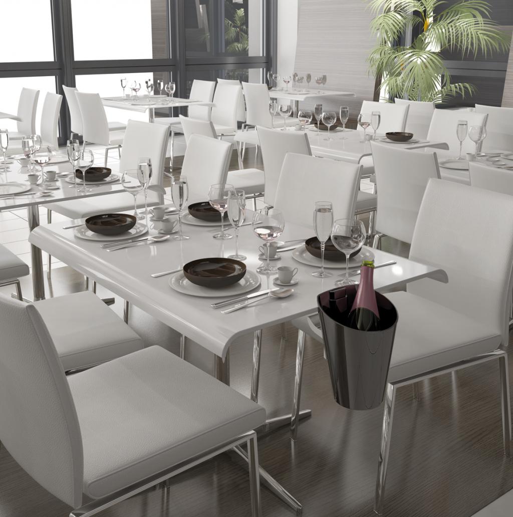 Soporte mesa y barra para cubiteras exportcave - Soporte para mesa ...